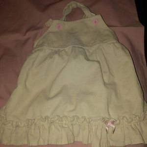 Other - EUC Old Navy pale yellow corduroy jumper